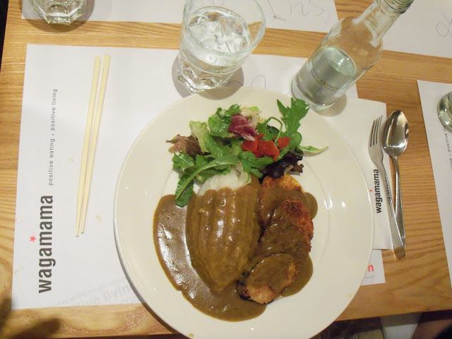 delicious curry lunch at Wagamama!
