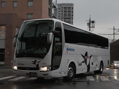 西日本鉄道「博多・フジヤマ Express」 4852 博多BTにて
