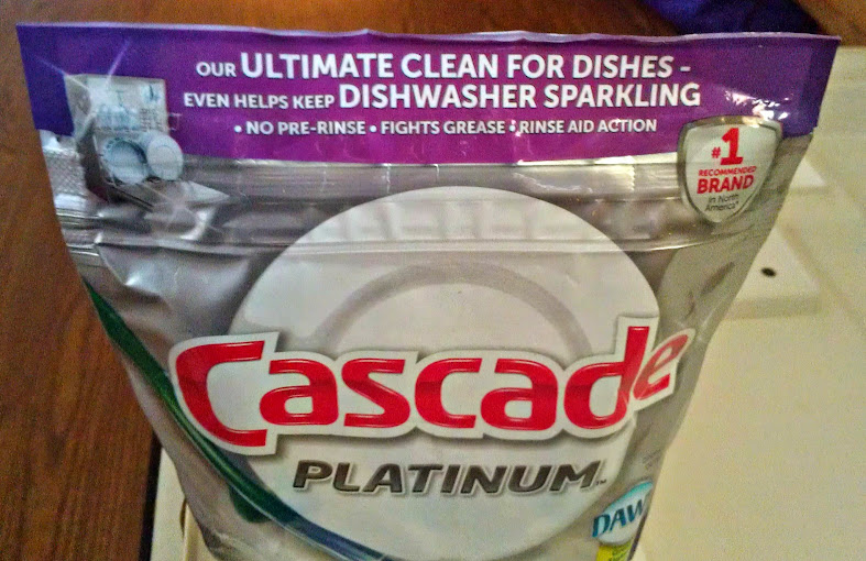 Cascade Platinum Pacs for the Dishwasher #MyPlatinum
