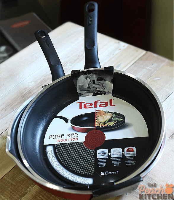 Tefal Pure Red Induction
