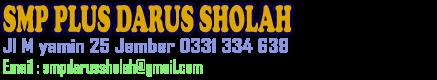 SMP Plus Darus Sholah