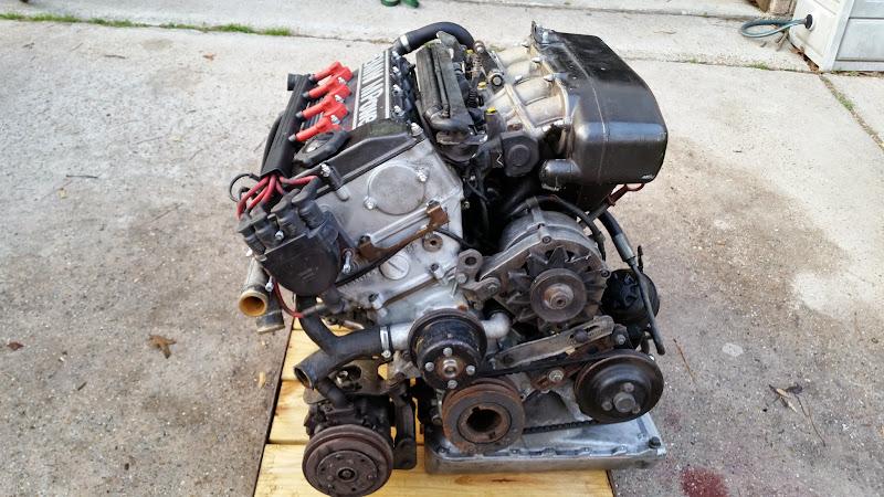 E30 S14b23 Engine  Transmission  Harness  And Ecu Complete