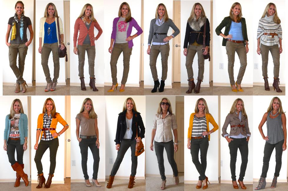 Flashback Friday: Skinny Cargos — J's Everyday Fashion
