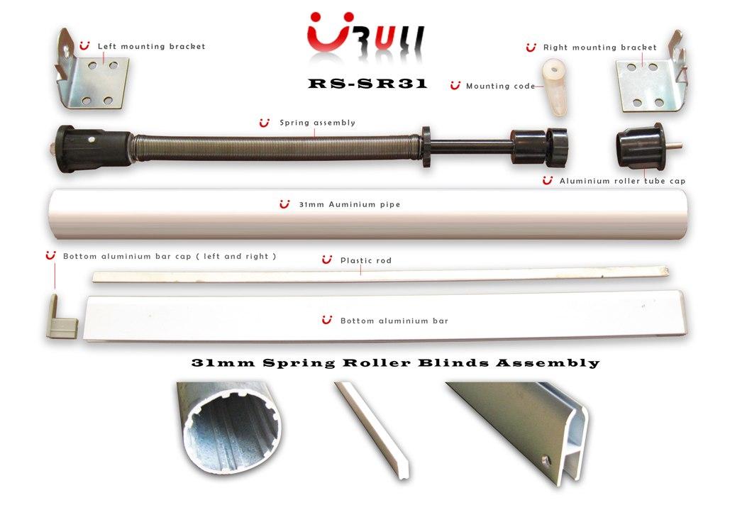 31mm Spring Roller Blinds Assembly Rs Sr31b Ruli