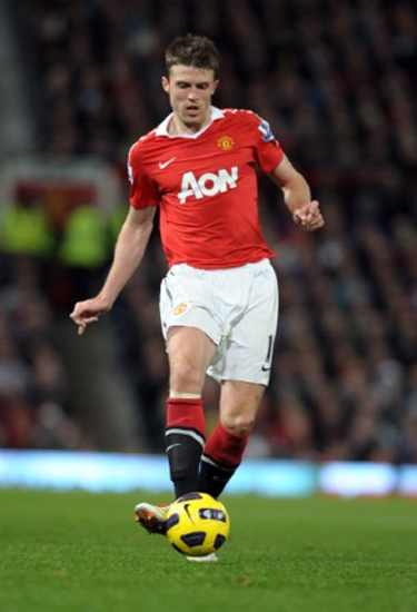 Michael Carrick photos Man Utd