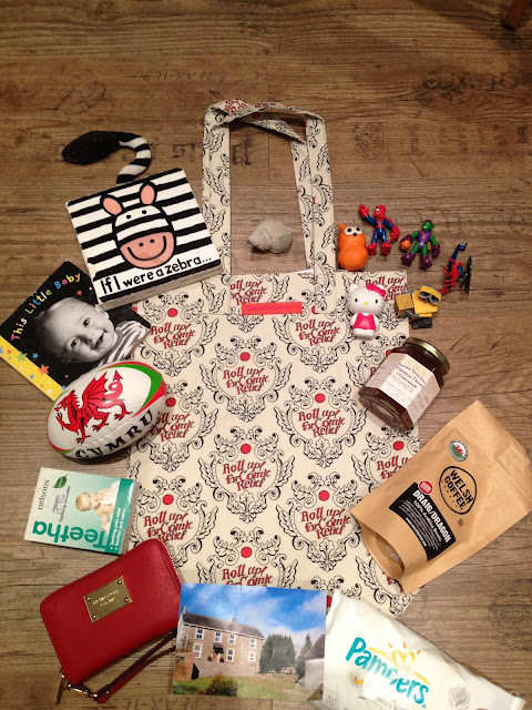 Emma Bridgewater TK Maxx Comic Relief Red Nose Day bag