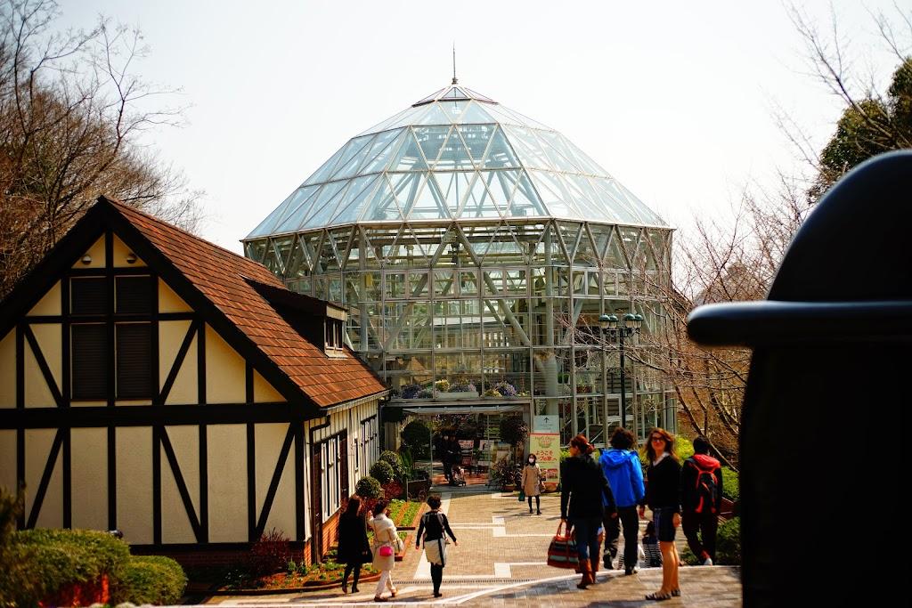 布引ハーブ園のグラスハウス