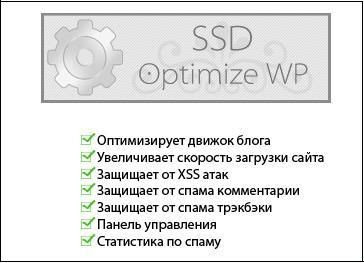 SSD Optimize WordPress