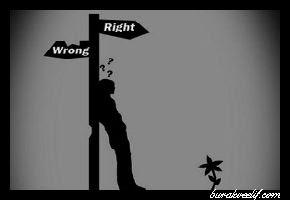 yanlışın peşinden gitme