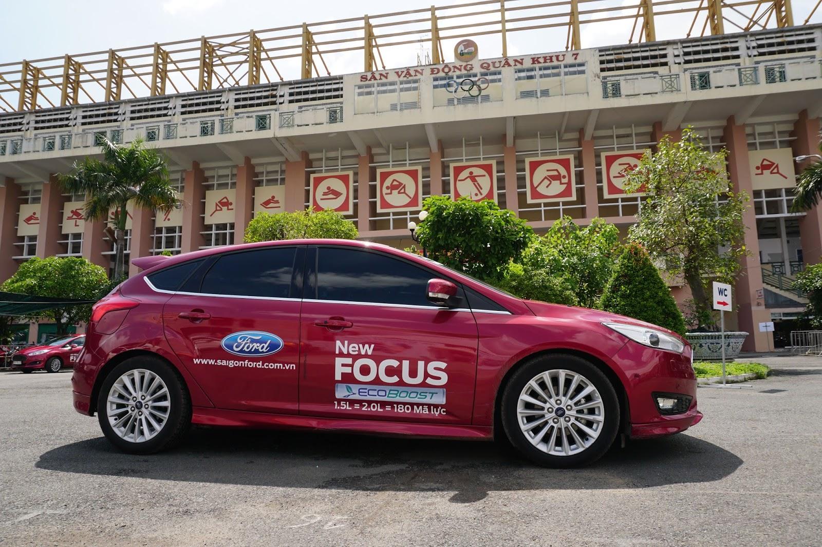 Ford Focus 2016 là một trong những chiếc xe an toàn, thông minh nhất trong phân khúc