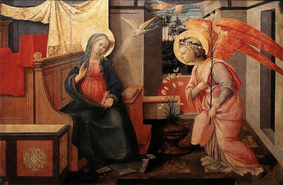 Fra Filippo Lippi - Annunciation, Rome