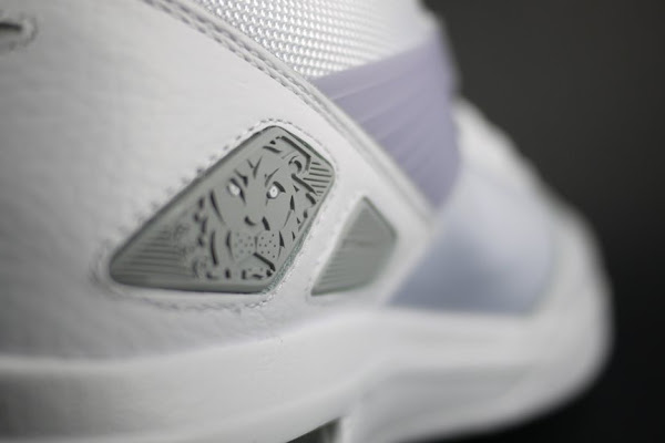 New Nike Zoom LBJ Ambassador III with Flywire 8211 WhiteGrey