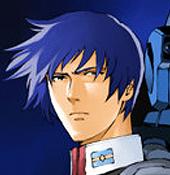 Blue Death Yuu Kajima Mobile Suit Gundam: Char's Counterattack UC 0093