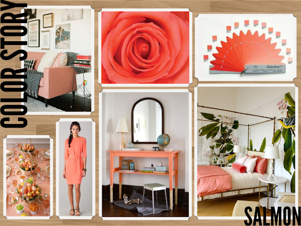 Salmon Color Inspiration Pinterest Decor