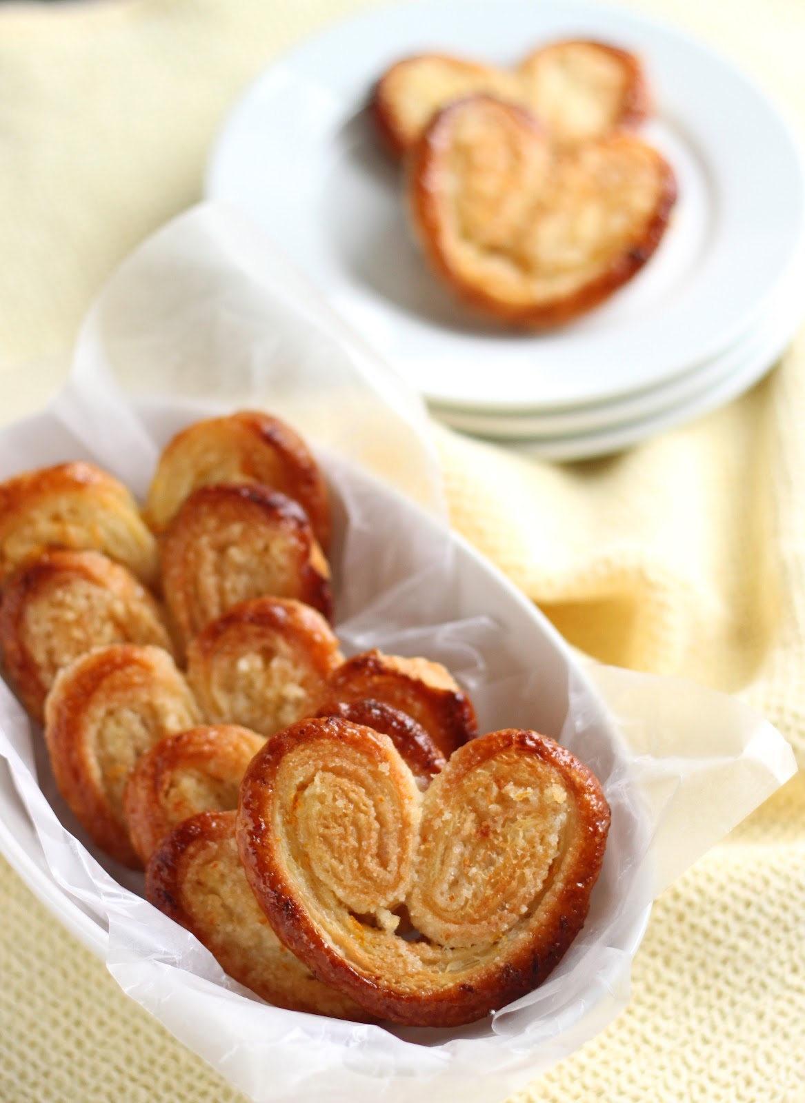 chocolate palmiers aka elephant ears meatless monday palmiers french ...