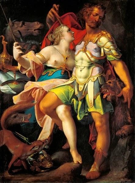 Bartholomeus Spranger - Ulysses and Circe