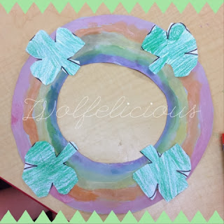 Photo of Rainbow Wreath Wolfelicious