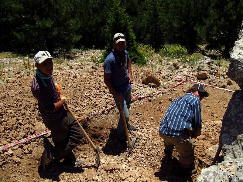 Turkish archaeologists