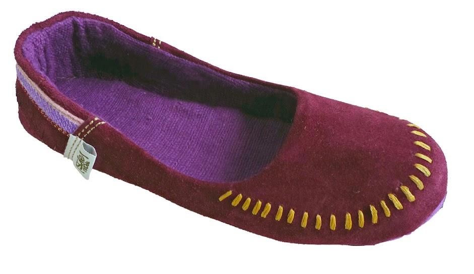 *soleRebels 手縫麂皮莫卡辛:moc up accent fringe平底鞋! 2
