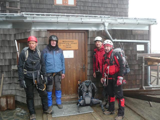 Naša četvorka na vrhu Austrije