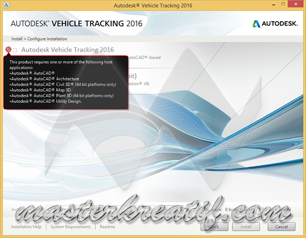 Autodesk Vehicle Tracking 2016