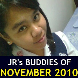JR's Buddies of November 2010