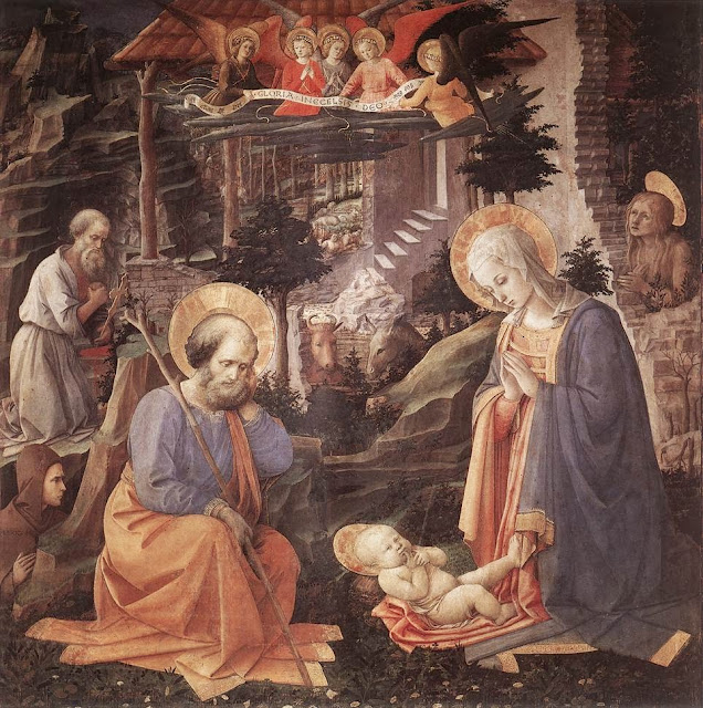 Filippino Lippi - Adoration of the Child