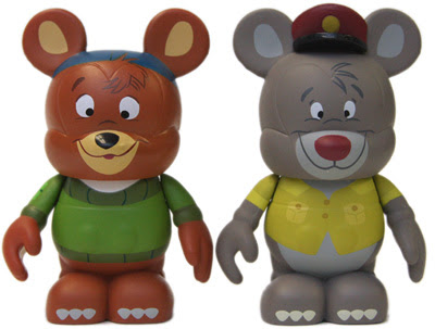 TaleSpin Disney Afternoon Vinylmation 2-Pack - Kit and Baloo Vinyl Figures