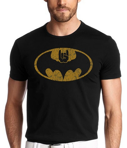 BatMan logo and Super star Rajini Style Printed T-shirt Code: BPT0003