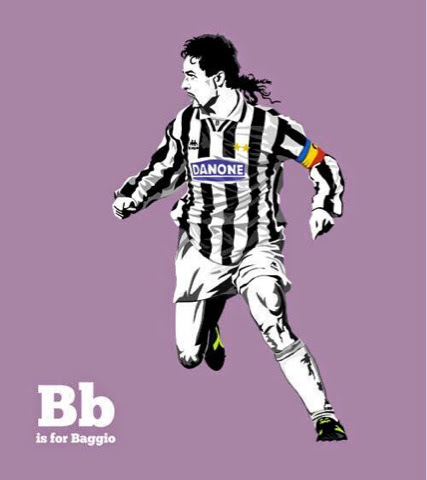 Roberto Baggio by Steve Welsh