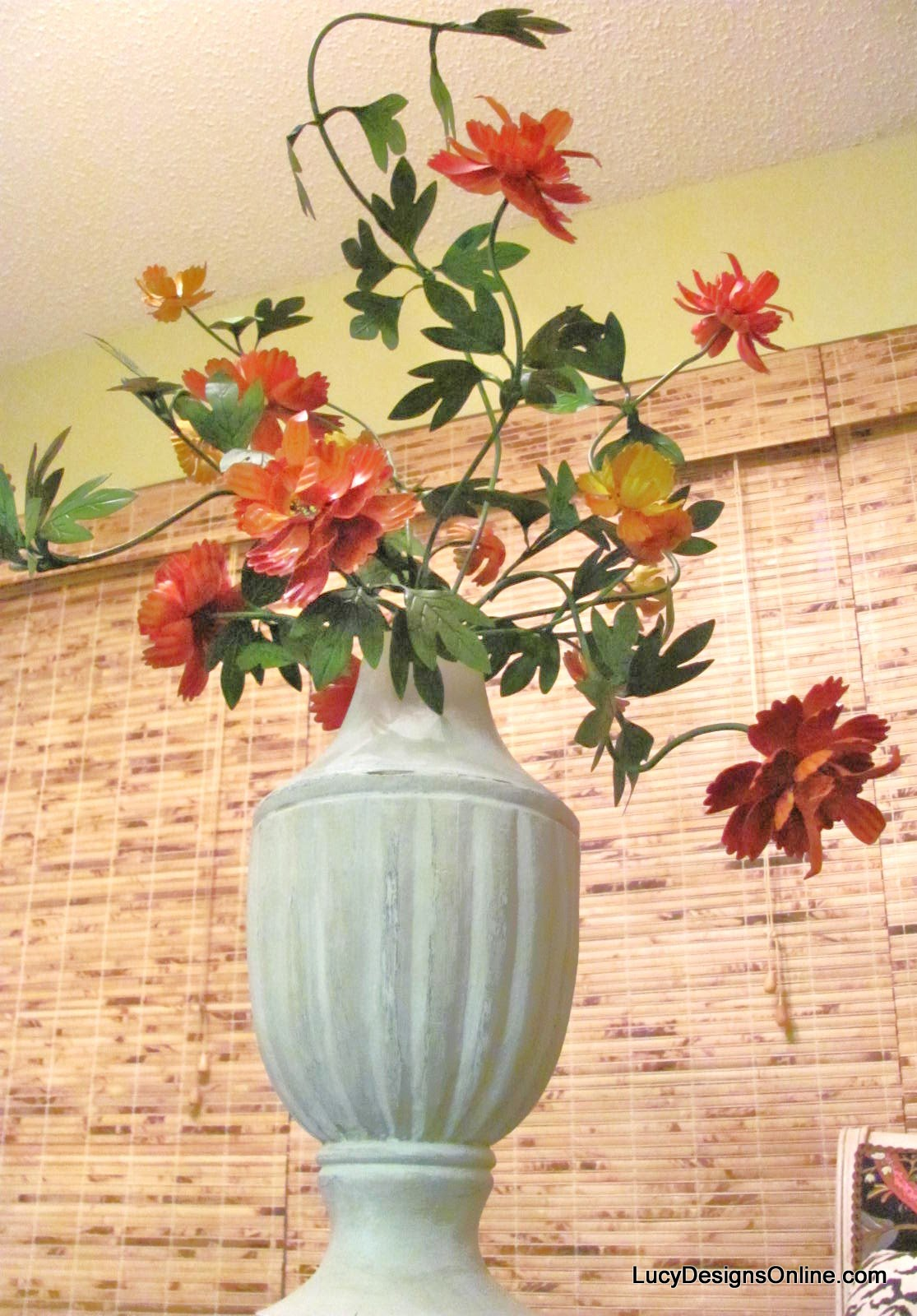 Trend Painted Metal Flowers