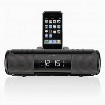 Portable Dock and Alarm for iPod and iPhone