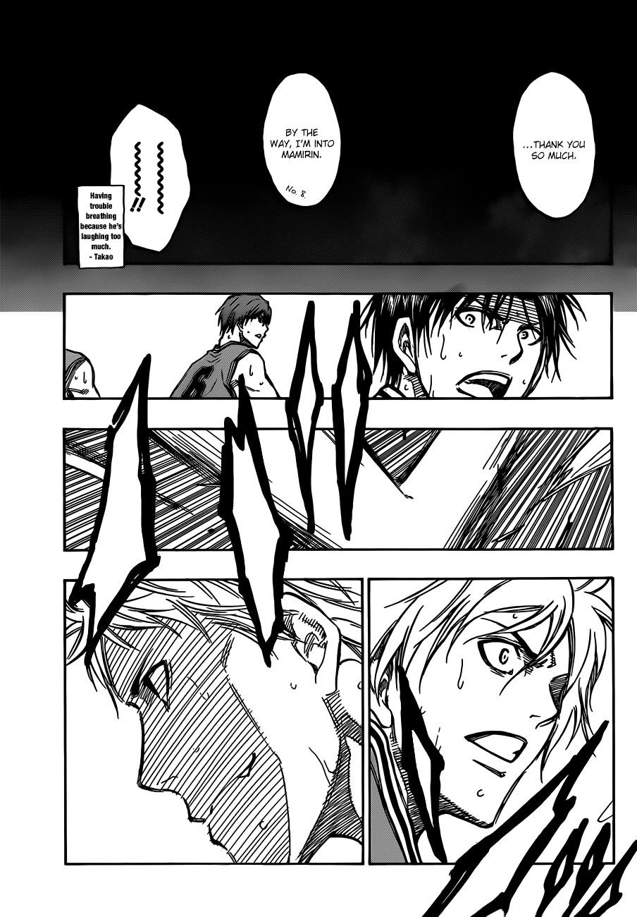 Kuroko no Basket Manga Chapter 177 - Image 05
