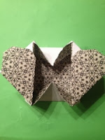 Vanskelig enkelt ark origami