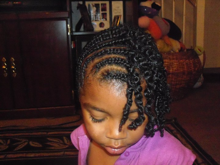 Little Black Girl Natural Hairstyles