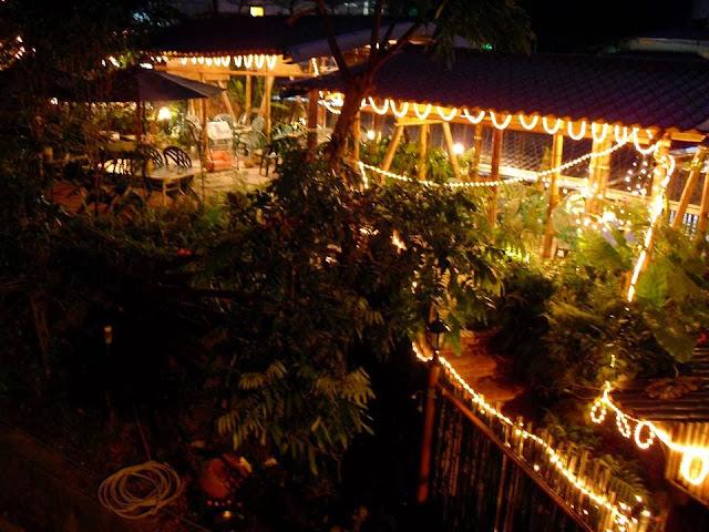 石墩庭園夜色