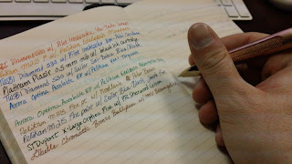 4 in 1 Review - Pen Leather Paper and Ink