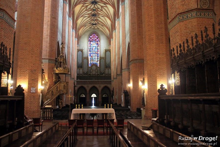 Katedra w Pelplinie - Drewniane stalle