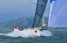 J/125 high performance sailboat- sailing San Francisco Big Boat Series