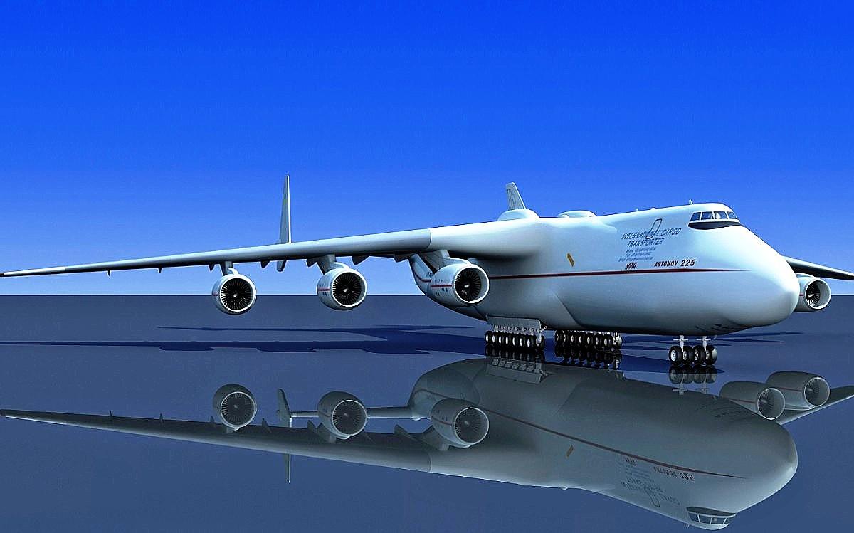 clicswallpaper: Antonov An-225 (Wallpaper 1)