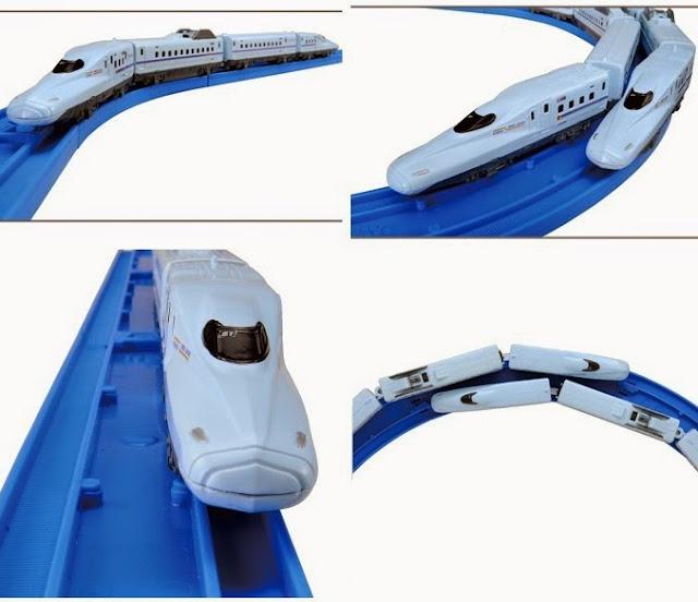 Đồ chơi Tàu hỏa AS-10 Series N700 Shinkansen Mizuho/Sakura chạy bằng pin
