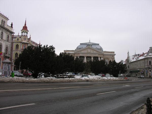 Oradea înzăpezită în 19 februarie 2012 #5