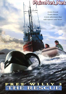 Phim Giải Cứu Willy 3 - Free Willy 3: The Rescue