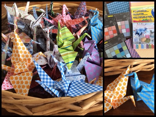Make It Monday Origami Paper Cranes A Symbol For Peace