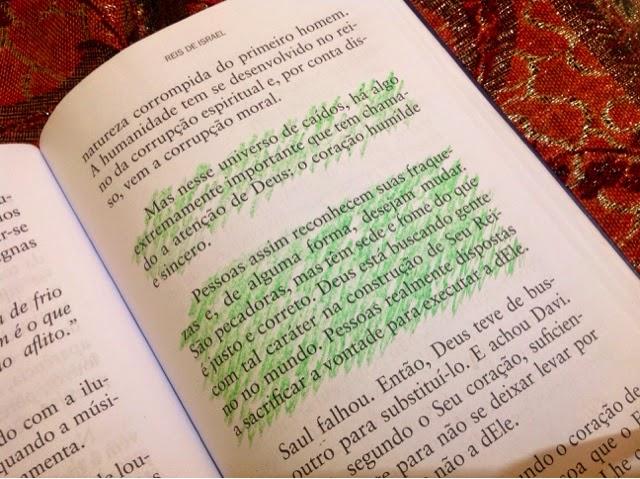Um coração humilde e sincero, é isso que agrada a Deus.