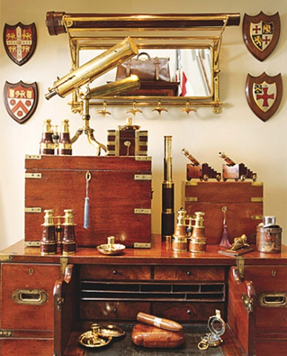 Lovely Campaign Dresser And Boxes (The White Dresser)
