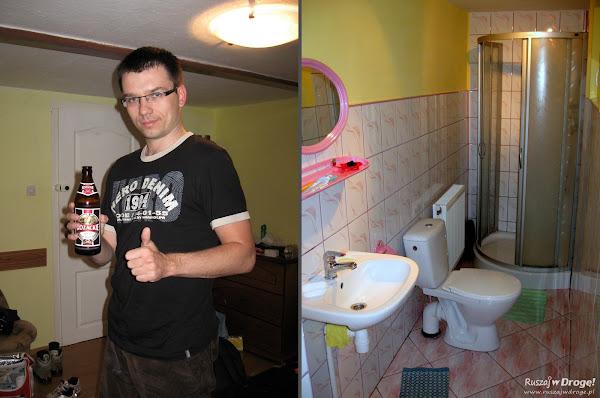 Kozacki pokój z kozacką łazienką