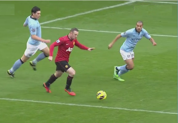 Rooney, Manchester City - Manchester United