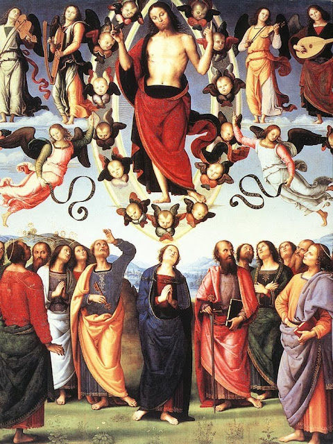 Pietro Perugino - The Ascension of Christ