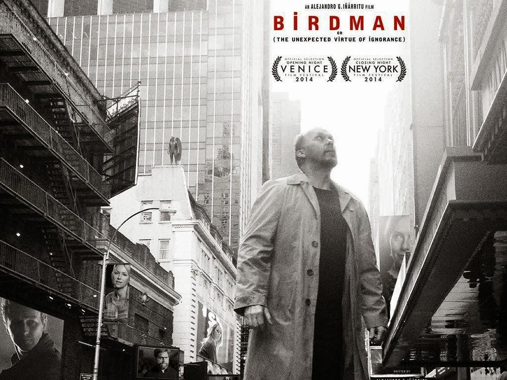 Η Απρόσμενη Αρετή της Αφέλειας (Birdman) Wallpaper
